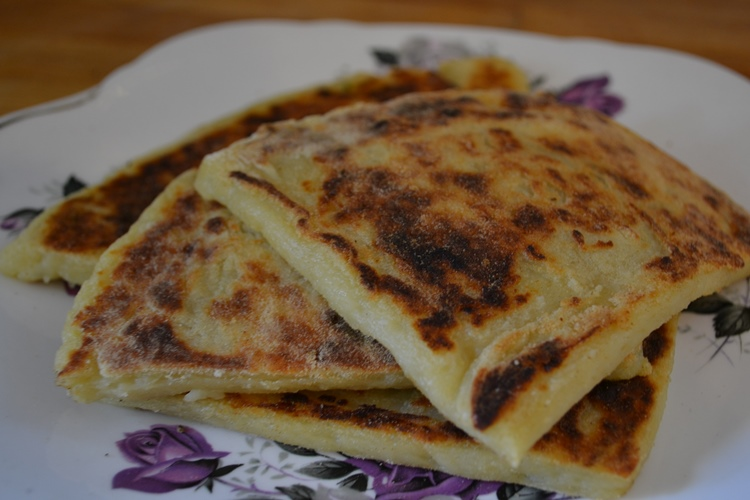 tasty golden potato farls