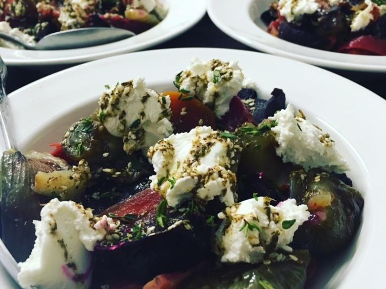 Beet salad crop